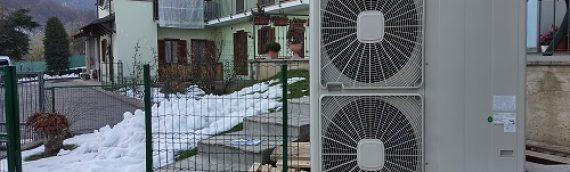 Realizzazione Edificio Residenziale GAS FREE con TERMOSIFONI Pinerolo (TO)