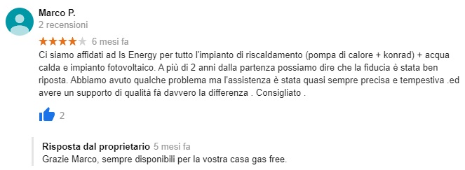 Recensione iS Energy