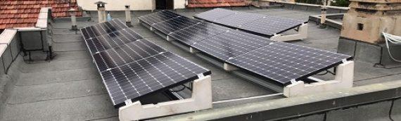 Realizzazione di Impianto Fotovoltaico per produzione di acqua calda sanitaria – Pinerolo