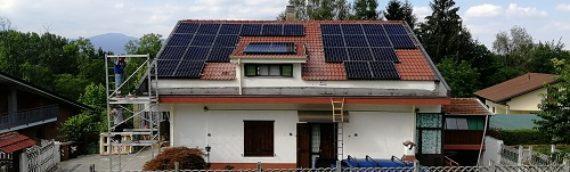 Impianto FV Residenziale Sunpower/Solaredege da 11,16 a Trana (TO)